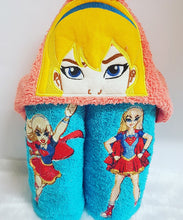 SuperGirl Hooded Towel