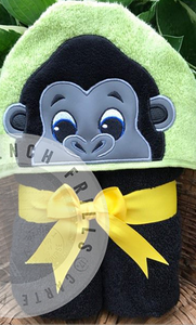 Gorilla Hooded Towels.