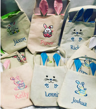 Personalised Easter Bags.