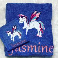 Unicorn Towel Set