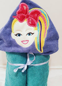 JoJo Siwa Hooded Towel