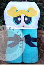 Power Puff Girls Hooded Towels.