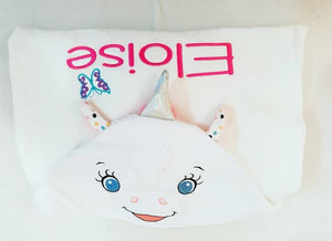 Unicorn Cubbie Hooded Towel