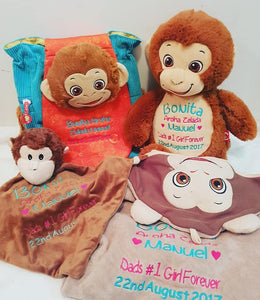 Monkey personlised pack