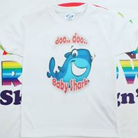 Baby Shark Family Tshirt Pack