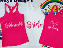Personlised Wedding/Hens Night tops