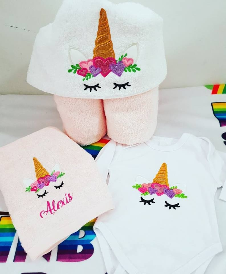 Unicorn baby pack