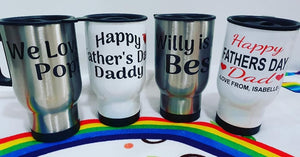 Personalised Travel Mugs