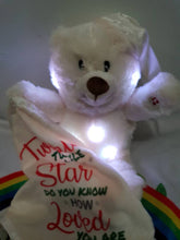 Melody Light Up Bear