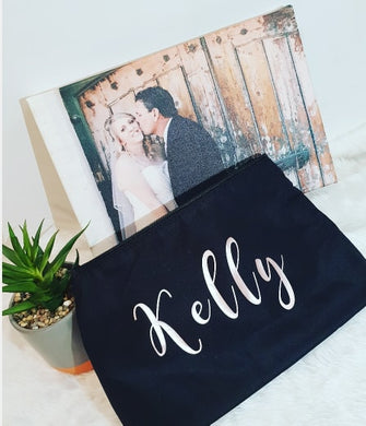 Cosmetics Bag Personalised