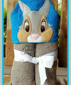 Bambi and Thumper Hooded Towel