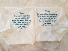 Personalised Hanky's (handkerchiefs)