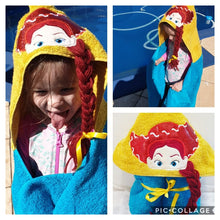 Jessie toy story Hooded Towel