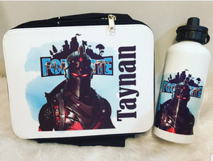 Fortnite Lunch Box and Drink Bottle