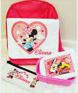 Kindy Backpack Personalised