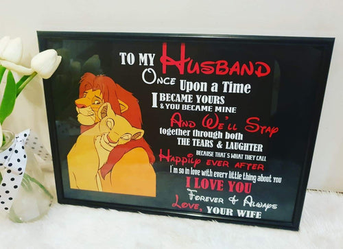 Lion King Valentines day Frames