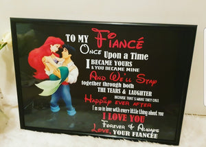 The Little Mermaid  Valentines day Frames