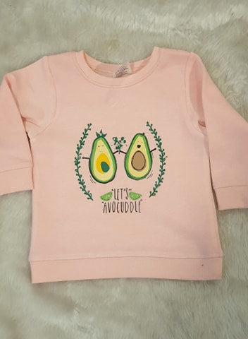 Let's Avocuddle Baby/kids Jumper