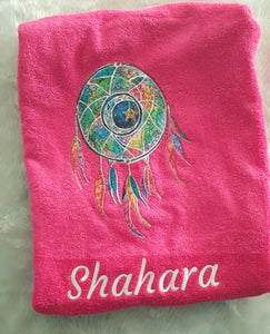 Dream Catcher Personalised Towel