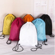Swimming Drawstring bag