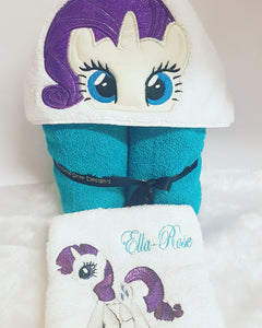 My Ponies Hooded Towel