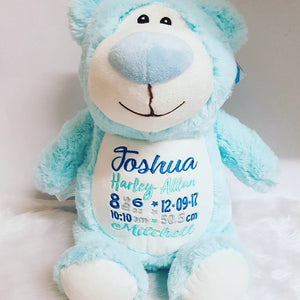 Light blue bear
