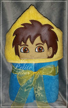Dora And Diego Hooded Towel