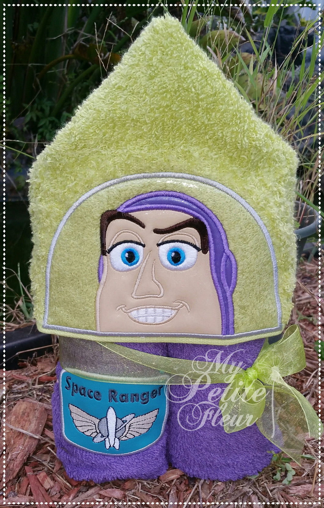 Buzz Lightyear Hooded Towel