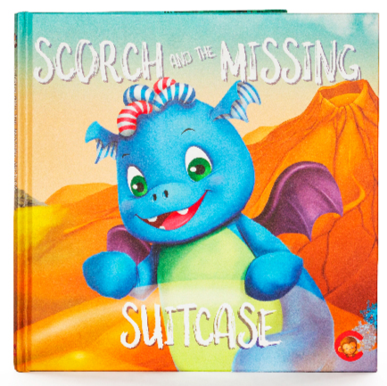 Scorch and the missing suitcase cubbie book