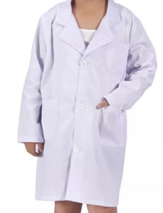 Kids lab coats personalised
