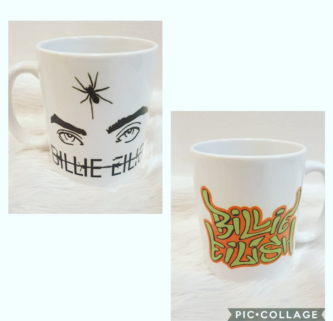 Billy Eilish Coffee Mug