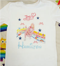 Jojo Siwa Personalised T shirt