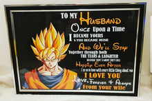 Dragon ball z Valentines day Frames