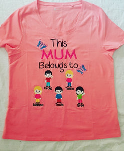 This mum/nana belongs to tshirt