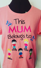 This mum belongs to tshirt