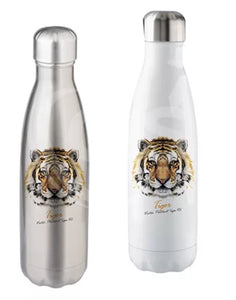Stainless steel slim drink bottles