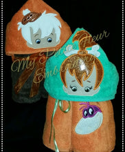 Flintstones Hooded Towel