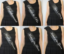 Customized Sashes