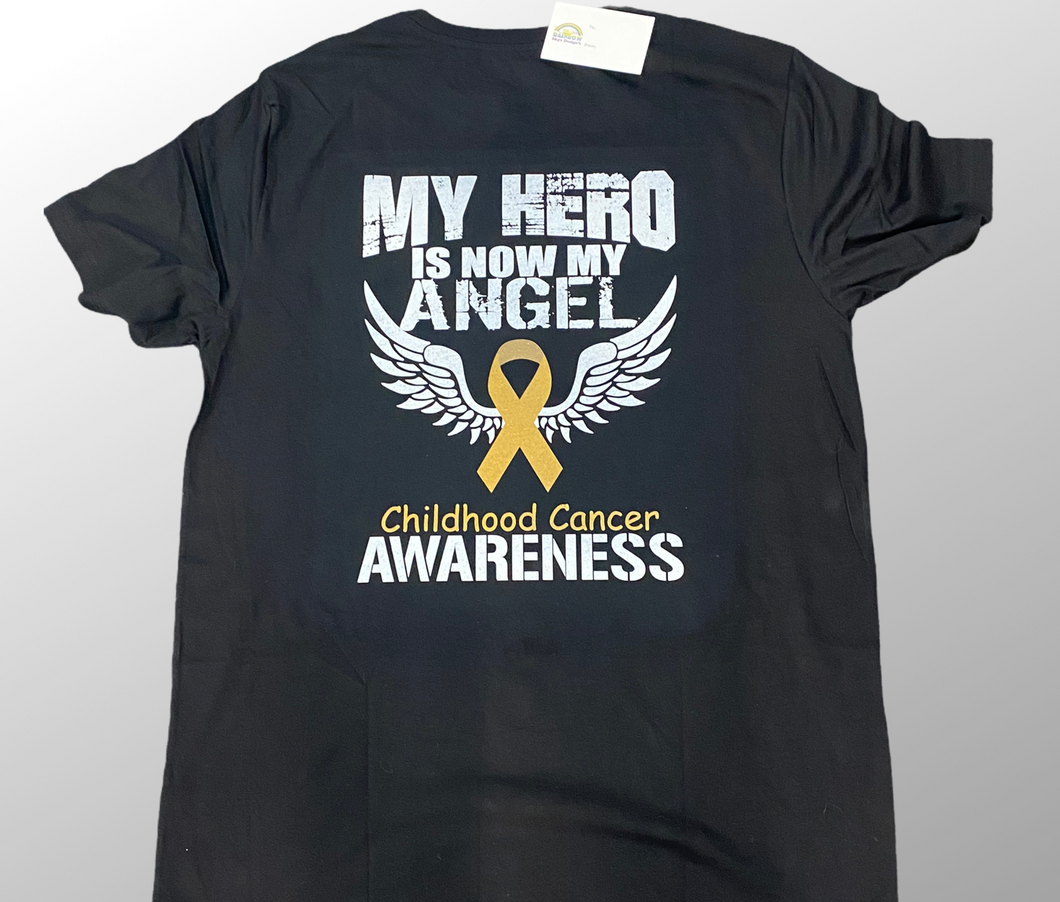 My hero is now my angel tshirt