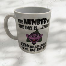 The Count Ah! Ah! Ah! Mug