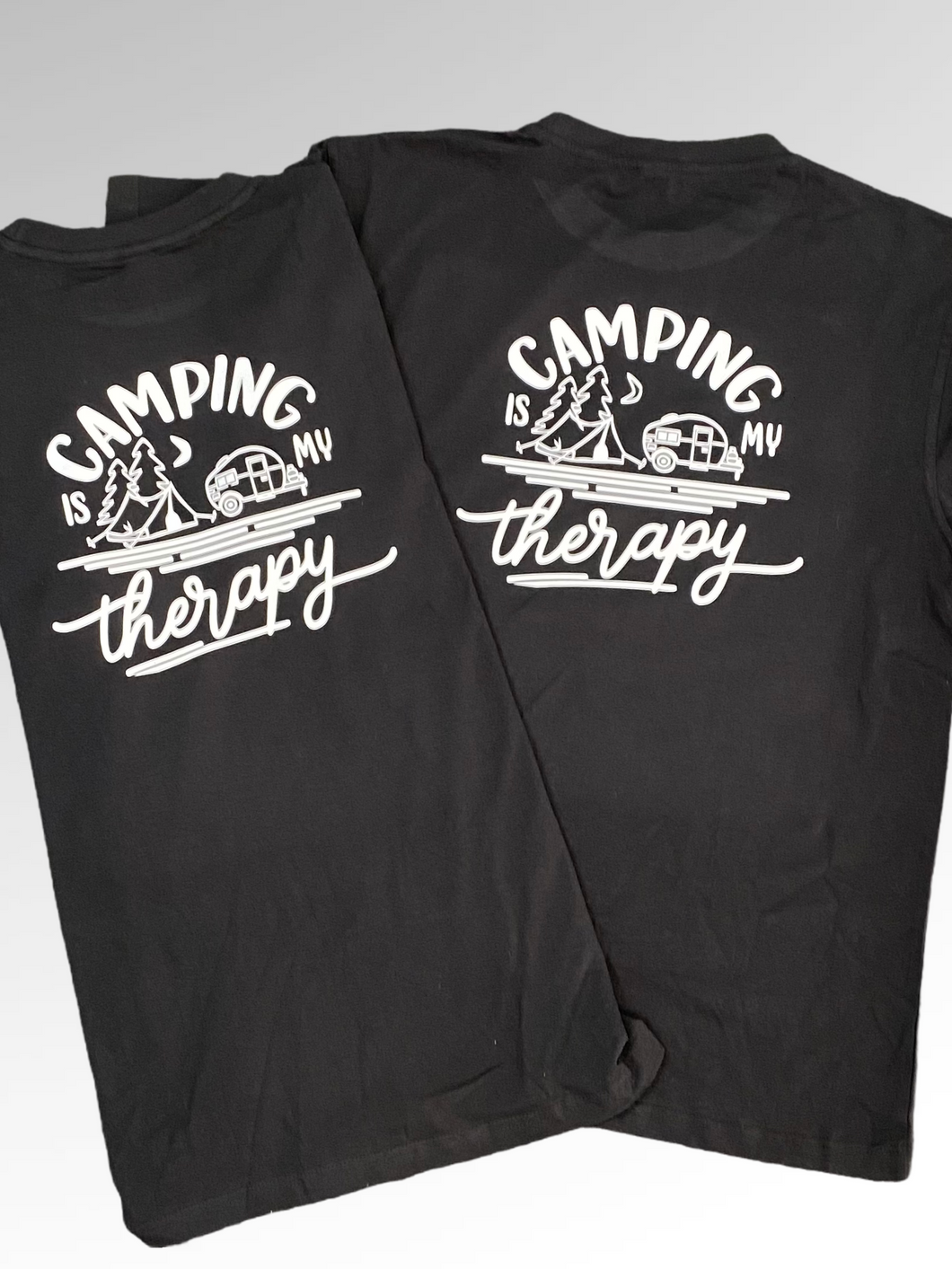 Camping is my therapy  tshirt