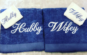 His and Her towel sets