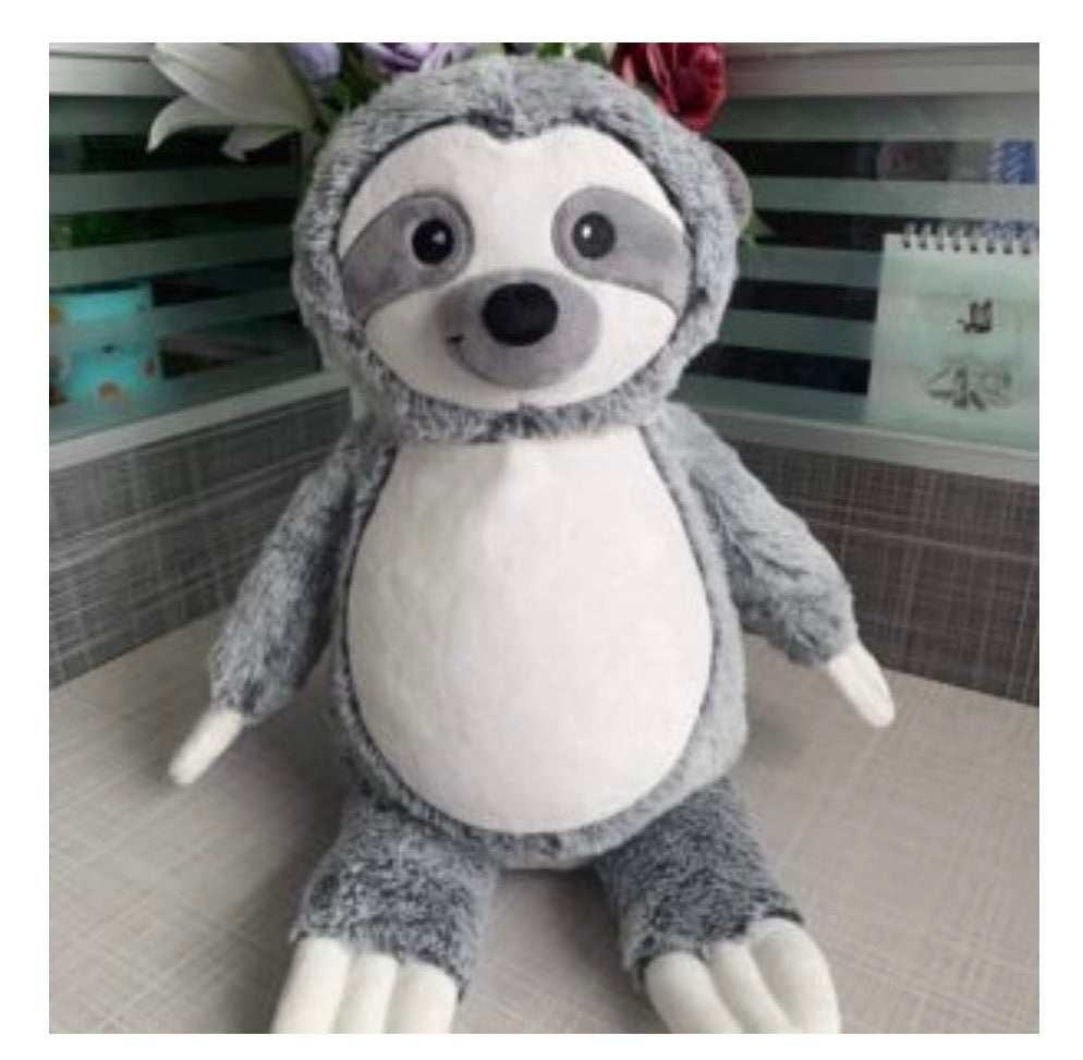Grey sloth Teddy  bear