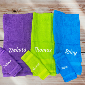 Personalised Towels (Names).