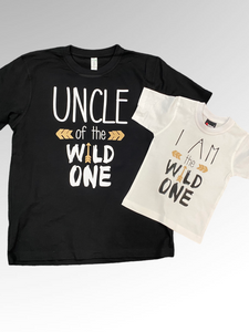 Uncle of the wild one / I am the wild one Matching sets