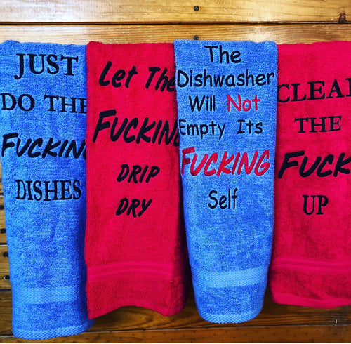 Adults Only Towels