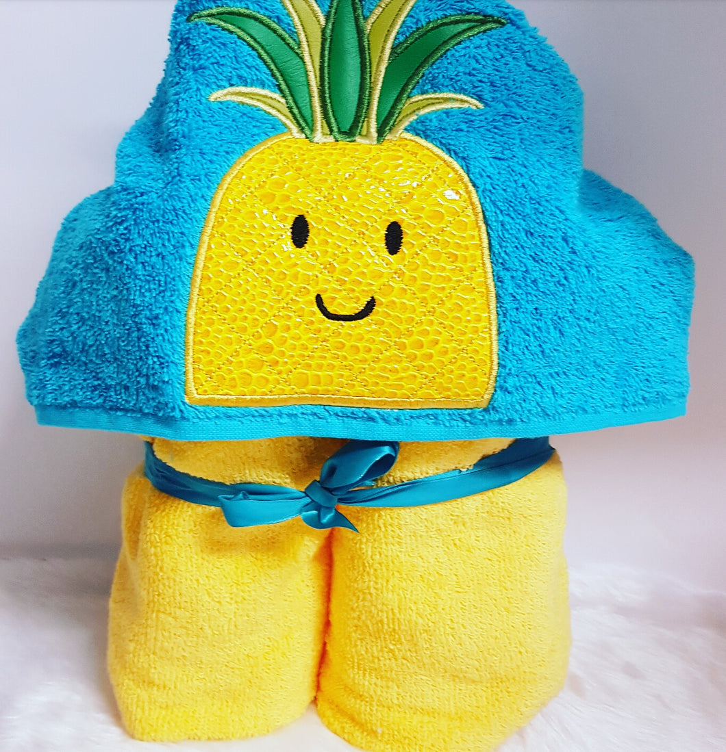 Pineapple Hooded Towels.