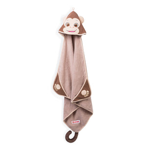 Monkey  Cubbie Hooded Towel