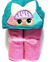 LOL Hooded Towel.