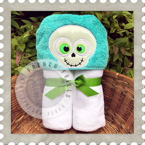 Skeleton Boy/Girl Hooded Towel
